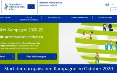 KURZ NOTIERT: EU-OSHA-Kampagne 20-22