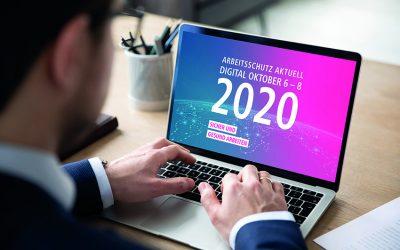 JETZT ANMELDEN: Arbeitsschutz Aktuell 2020 digital