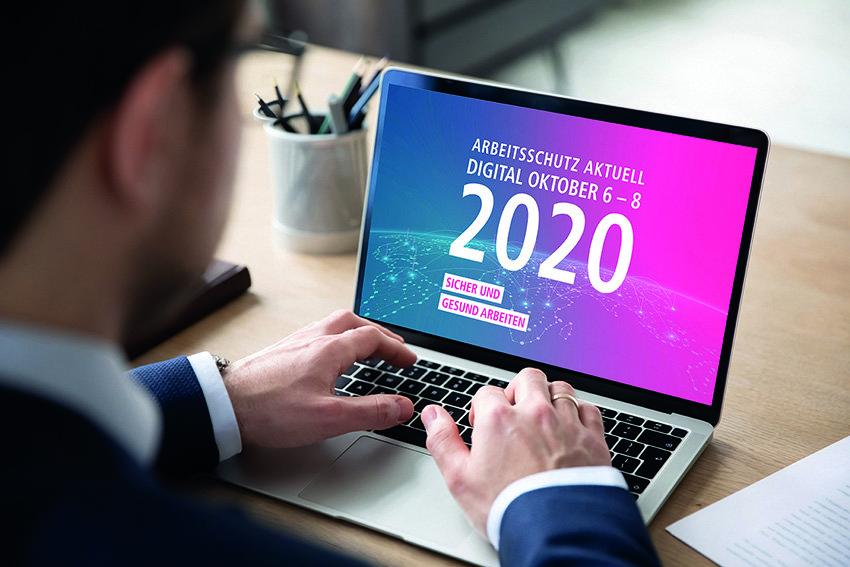 Gemeinsam durch die Krise: Arbeitsschutz Aktuell 2020 goes digital