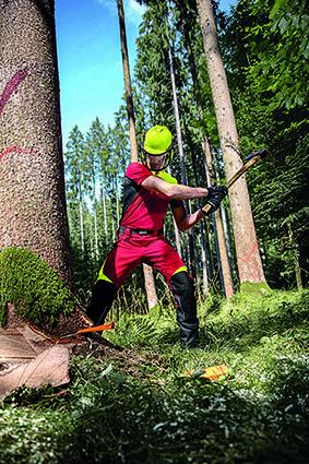 KÜBLER: KÜBLER FOREST – Profi-Schnittschutz mit eingebautem Wohlfühlfaktor