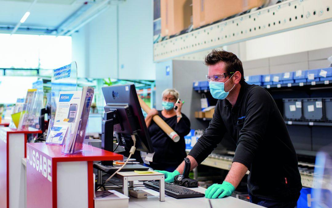 HABERKORN: Pandemie-Produktversorgung in Unternehmen