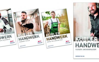 KÜBLER bringt Broschürenserie für das Handwerk heraus